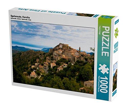 Preisvergleich Produktbild Speloncato, Korsika 1000 Teile Puzzle quer (CALVENDO Orte)