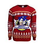 Classic Sonic Official Christmas Jumper / Sweater (Medium)