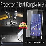 Protector pantalla cristal templado para SONY XPERIA Z2. film templado, vidrio templado ULTRA RESISTENTE y GRAN CALIDAD de AHORRATECH®