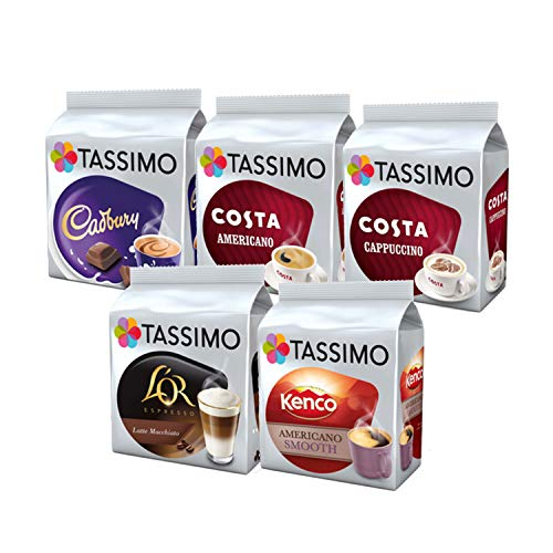 Tassimo Variety Box Set 56 Cups Drinks Pack T Discs Pods