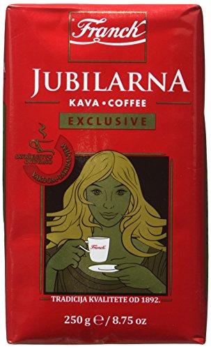 Franck Franck Kaffee Jubilarna Kava Exclusive gemahlen 250g