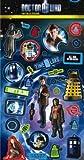 Doctor Who - Fun Foil Sticker Sheet (Reusable)