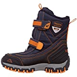 Kappa Unisex-Kinder BENTO TEX Teens Klassische Stiefel, Blau (Navy/Orange 6744), 38 EU