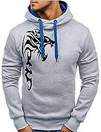 ITISME Herren Pullover - Camiseta de Manga Larga - Corte Imperio - Liso - Manga Corta - para niño