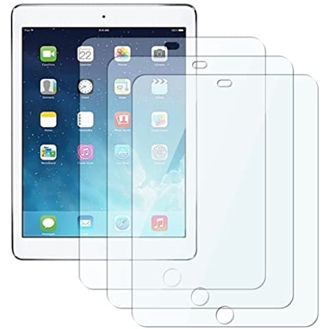 3xFirst2savvv ipad air 2 de primera calidad Antideslumbrante Anti-Huella digital LCD Screen