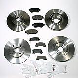 Autoparts-Online Set 60004264 Bremsscheiben/Bremsen + Bremsklötze Vorne + Hinten