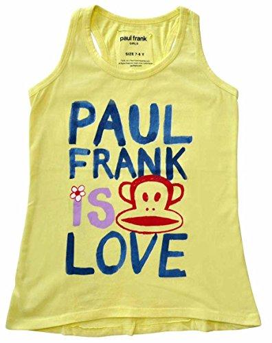 Paul Frank Kids Julius Tanktop gelb 9-10Y