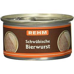 Rehm Schwäbische Bierwurst, 12er Pack (12 x 125 g)