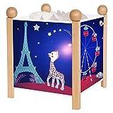 Trousselier 4365GB 12V Magische Laterne Sophie die Giraffe Paris Nacht Lampe