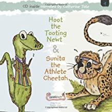 Hoot the Tooting Newt & Sunita the Athlete Cheetah