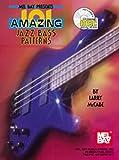 MEL BAY MCCABE LARRY - 101 AMAZING JAZZ BASS PATTERNS + CD - ELECTRIC BASS Partition jazz&blue Guitare Basse