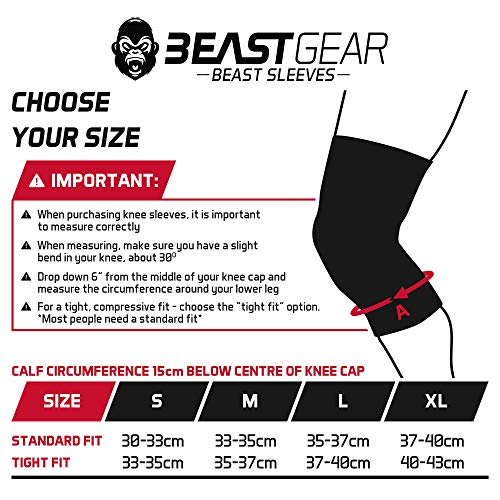 Zoom IMG-3 beast gear ginocchiere in neoprene