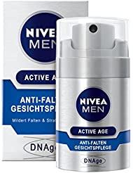 Nivea Men Active Age Anti-Falten Gesichtspflege für Männer, 1er Pack (1x 50 ml)