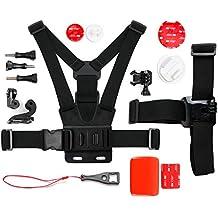 DURAGADGET Kit de accesorios para La Cámara deportiva SjCAM M10 | M10 WiFi | M10+ | M20