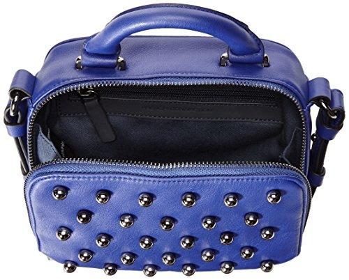 French Connection Vinny Damen Kunstleder Messenger-Taschen Monarch Blue