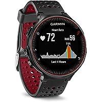 Garmin Forerunner 235 - Montre de Running GPS avec Cardio au Poignet - Noir/Rouge
