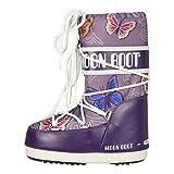 Moon Boot by Tecnica Kinder Stiefel JR Butterfly violett , Größe:27/30
