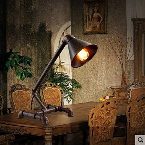 Nbkls retrò industriale lampada da tavolo vento, personalizzata creativa in ferro battuto lampada da tavolo, personalizzato decorativo lampada da tavolo acqua