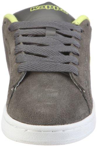 Kappa DWIGHT 241326 Unisex-Erwachsene Sneaker Mehrfarbig (1633 GREY/LIME 1633 GREY/LIME)