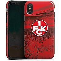 Apple iPhone X Hülle Tough Case Schutzhülle 1. FC Kaiserslautern 1. FCK Rot