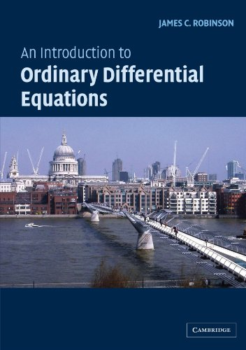 An Introduction to Ordinary Differential Equations Paperback (Cambridge Texts in Applied Mathematics)