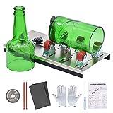Zalava Glasschneider für Flaschen Edelstahl Flaschenschneider Glasschneider Glas Bottle Cutter Kit Für DIY Stained Glass, Flaschen Pflanzmaschinen, Flaschen Lampen, Kerzenständer