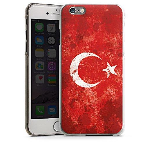 Apple iPhone 5s Housse Étui Protection Coque Türkiye Turquie Drapeau CasDur transparent