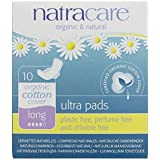 Bodywise Uk Ltd (10 PACK) - Natracare Ultra Pads With Wings - Long | 10s | 10 PACK - SUPER SAVER - SAVE MONEY