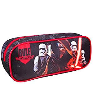 PERLETTI – Estuche Escolar Niño Star Wars – Bolsa para Lapices Estampado Kylo Ren – Neceser Portatodo de Chico Joven…