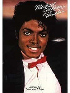 Michael Jackson: Thriller (PVG). Partitions pour Piano, Chant et Guitare