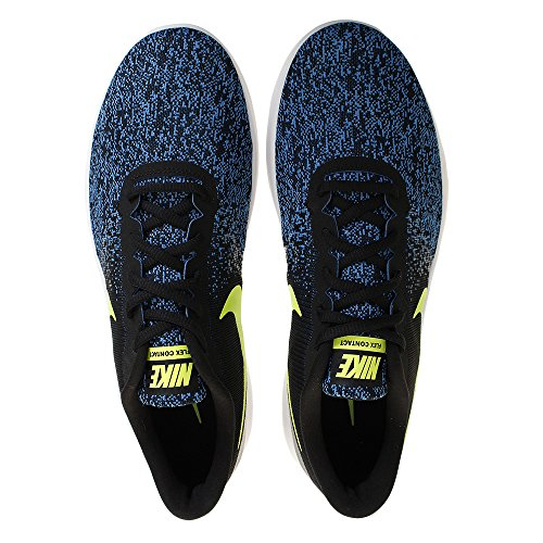 Nike Flex Contact, Chaussures de Fitness Mixte Adulte, Noir Blanc (blanc)