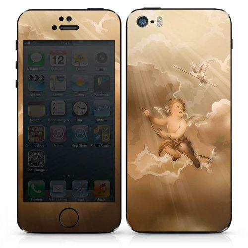 Apple iPhone 5 Case Skin Sticker aus Vinyl-Folie Aufkleber Liebe Engel Amor DesignSkins® glänzend