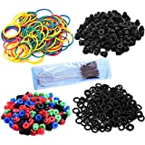 Professional Colorful Tattoo Rubber Bands + O-Rings + A-bar Grommet...