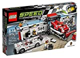 LEGO 75876 Speed Champions Porsche 919 Hybrid and 917K Pit Lane Set
