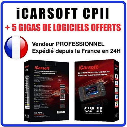 Valise Diagnostique PEUGEOT et CITROEN - iCARSOFT CPII PSA LEXIA DIAGBOX PP2000
