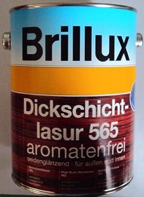 11,99Eur /l 2,5 L Brillux Dickschichtlasur 565, Farbton eiche 1410 von Brillux GmbH & Co KG - TapetenShop
