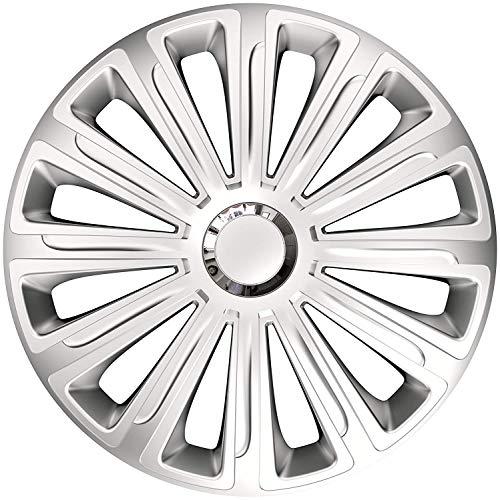 BuyStar Copricerchi Trend RC per Auto, Misura Universale, Set di 4, 15' Po