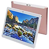 Tablet da 10 pollici Android 7.0, processore Octa-Core, 2 GHz, 64 GB di archiviazione, 4 GB di RAM, doppia fotocamera, WiFi, GPS, Bluetooth 4.0,1280 x 800 IPS Ultra Slim 3D Game supportato (Rosa)