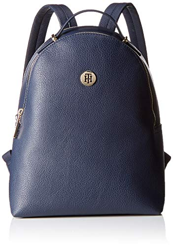 Tommy Hilfiger Damen Th Core Mini Backpack Tornistertasche, Blau (Tommy Navy)