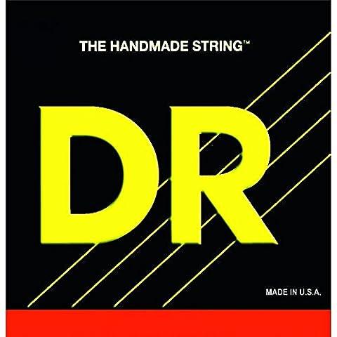 Dr fabriqué à la main de 4String long Neck Tapered Stainless Steel 40–100Long Scale Bass Guitar Strings tlh 40