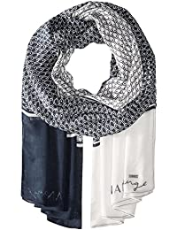 A|X Armani Exchange Women's Vintage Geo Scale Scarf