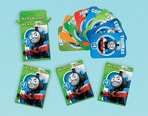 amscan 1.011.796,3cm Thomas und Friends Beschr TBA Memory-Spiel