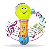 Geschenk für 9-12 Monate Baby, Mikrofon Spielzeug für 1-4 Jahre alt Jungen Mädchen Geschenk für 6-18 Monate Mädchen Kinder Mikrofon für Baby Spielzeug für 2 Jahre alt Kleinkind