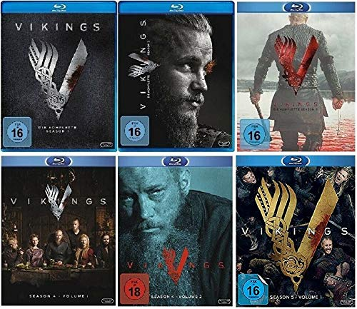 Vikings Staffel 1-5.1 (1+2+3+4.1+4.2+5.1, 1 bis 5.1) [Blu-ray Set]
