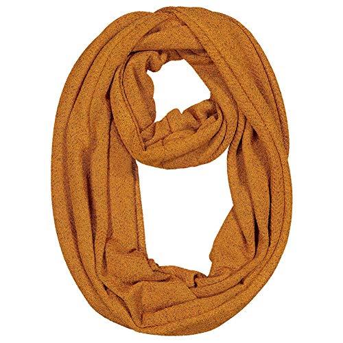 nfinity Schal Reisen Schals Decke Schal Schals Wrap Loop Schal mit versteckten Reißverschluss Taschen Neck Warmer Halstücher für Männer Frauen gelb,EINWEG Verpackung ()