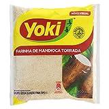 Yoki Harina de Mandioca Tostada - 6 Paquetes de 500 gr - Total: 3000 gr