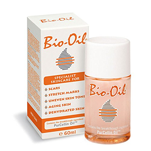 Bio-Oil Specialist SkinCare PurCellin Oil For Scar, Stretch Marks, Uneven Skin Tone, Ageing Skin, Dehydrated Skin 60ml by Bio Oil