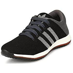 Amico Alpha Mesh Unisex Hydra-2.0 Running Shoes C20 (Black & Grey)