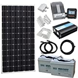 Photonic Universe Small Off-Grid Household Solar Power System for motorhome, caravan, campervan, RV, boat or yacht, or off-grid/backup solar power system
