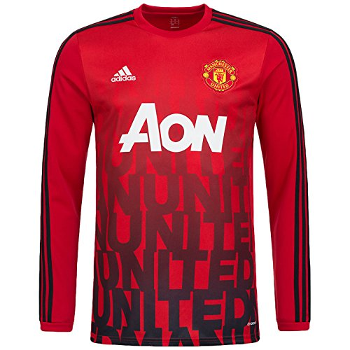 manchester-united-fc-adidas-maillot-a-manches-longues-avant-match-ah6246-rouge-xs